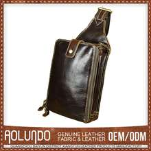 Top Sale Reasonable Price Leather Italian Mens Bag