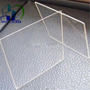 Low iron ultra whiite cheap price 4mm 3.2mm solar panel cover glass for sale
