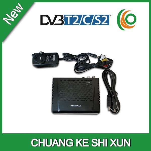 Singapore DVB-S2 <strong>satellite</strong> and DVB-T2 DVB-C receiver ground triple amiko mini hd combo
