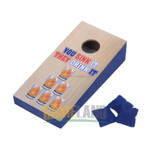 Outdoor Games Wooden Toss Game With Sand Bag