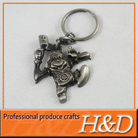 2013 Excelent designs promotional gifts fashion key chain
