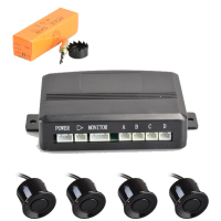 High quality BIBI alarm car backup alarm with 4 sensors