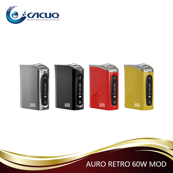 China supplier 2200mah high-rate discharge battery AURO RETRO 60W mod