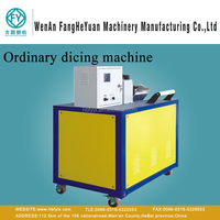 Ordinary 18 blades hob dicing machine for plastic granualtion production line