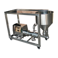 factory price high efficiency emulsifying mixer machine water powder mixer with platform