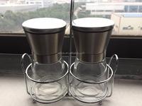 High quality pepper and salt grinder mill set