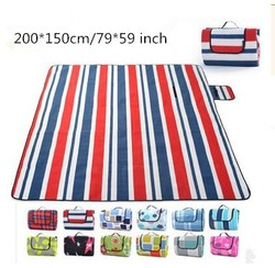 "79*59"" Portable Thick Waterproof Outdoor Beach Camping Picnic Mat Pad Blanket"