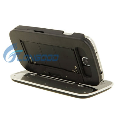 Brand New super thin slide out bluetooth wireless keyboard case for samsung S4