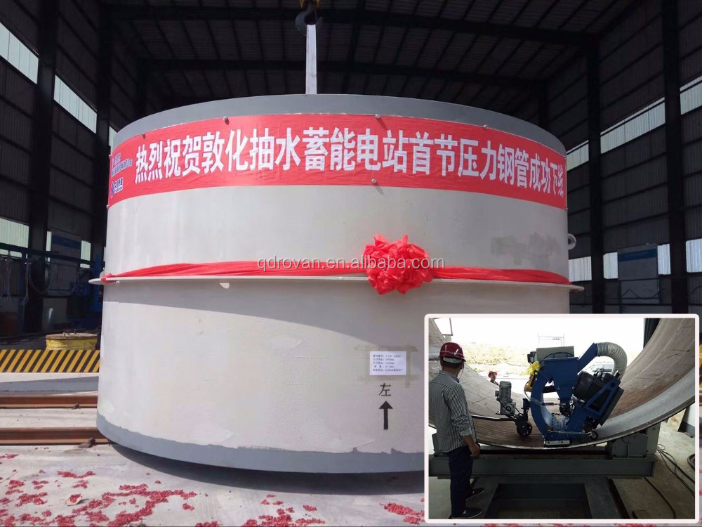 Best Offer Vertical Wall Movable Shot Blasting Machine Made by China