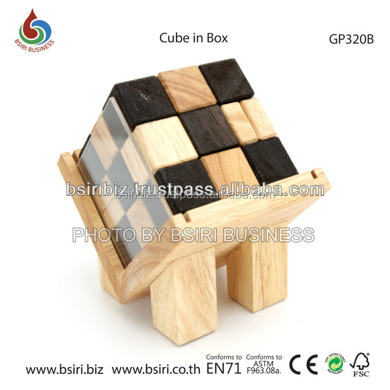 Cube in Box brain teaser toys