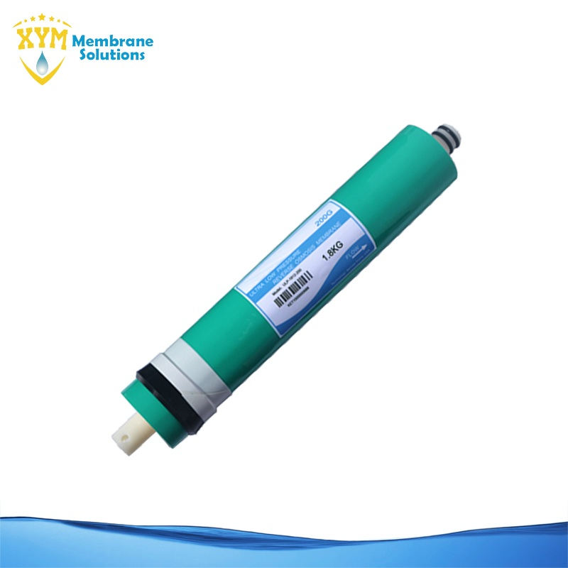 200GPD ultra low pressure 95% salt rejection 1812 domestic RO membrane for Reverse Osmosis water purifier