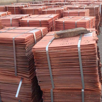 Copper Cathodes High Grade 99.99% Electrolytic Grade A Copper cathode Cu 99(Copper cathode Grade A )