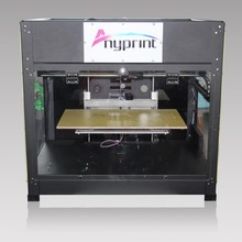 3D rapid prototyping machine with LED display and SD card easy to operate
