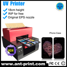 A3 Size uv Economical Printer Digital 3d Handphone Cover Printer With White Ink