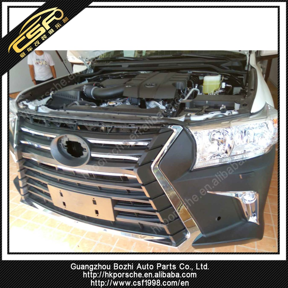 Sprightly body kit for 2016 Land Cruiser LC200 transform to LX570