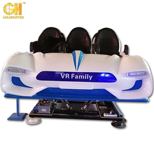 High quality Interactive 6 Seats VR family 9D Virtual Reality Dynamic Cinema Rides