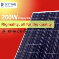 A-grade 260W solar panel manufacturers in china, solar pv module