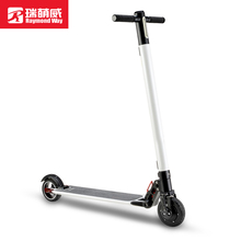 2017Hot Sale Lightest Carbon Fiber Foldable Electric Scooter for outdoor