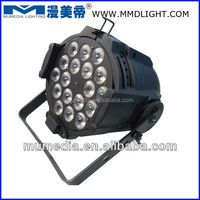 disco/club/stage indoor use led par can MD MLP-18*12W(6in1)-RGBWA-N