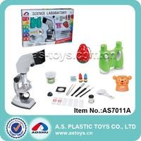 900X microscope set toy educational science kits with binocular