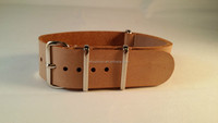 top quality genuine italian leather belt leather military watch strap