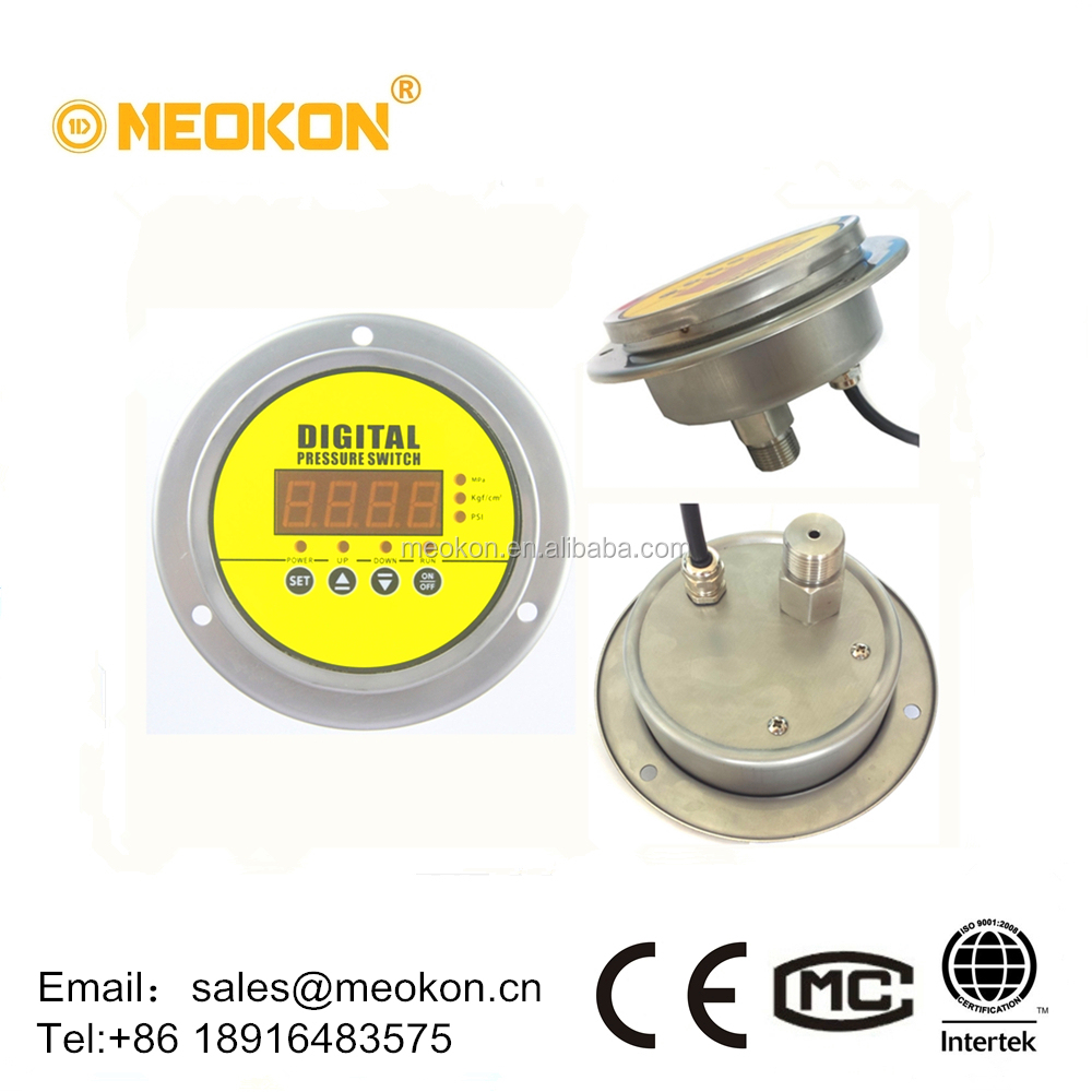 MD-S900Z Axial mounting high precision water oil gas intelligent digital pressure switch