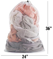 Machine Washable Sturdy Rip-Stop Material Drawstring Large Travel Laundry Bag