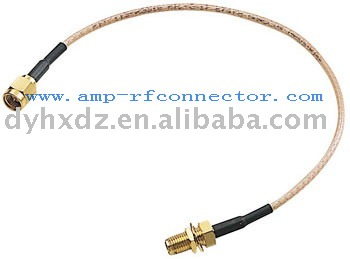 SMA male to female for RG316 jumper pigtail cable SMA