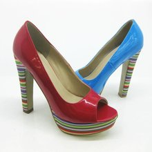 2012 fashion lady shoes,high heel flatform for women