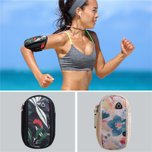 Hot sales waterproof outdoor running mobile phone bag cell phone arm bag