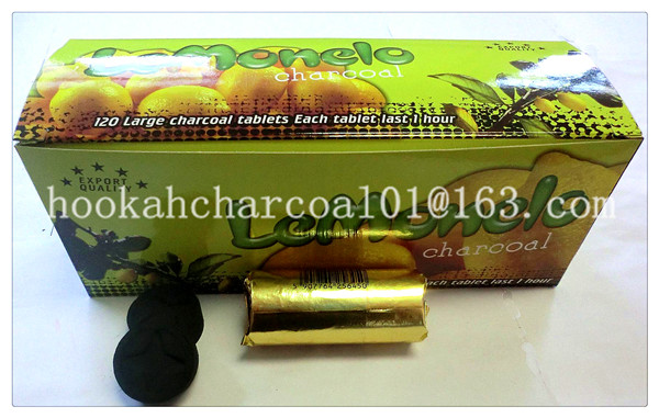 best quality lemon flavor wood charcoal for hookah incense