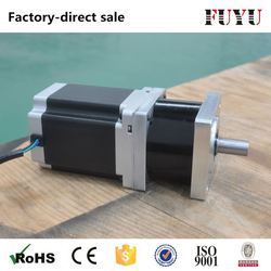 made in china 4:1 to 100:1 ratio planetary geared nema 34 gearbox stepper motor