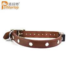 Online Shopping Pet Supplies Jewel Series Genuine Leather Led Dog Collar