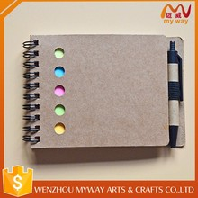 Bulk sale cheap writing mini book portable office memo sample