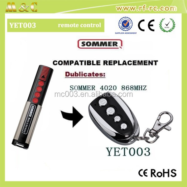 Good quality Compatible with Sommer Remote Control FM transmitter
