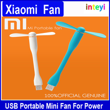 Original Xiaomi USB Fan Flexible USB Portable Mini Fan For Power Bank&Notebook&Laptop&Computer Power-saving