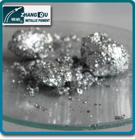 Silver Metallic Aluminum Color Pigment for Ink