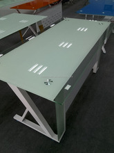 New model executive office desk with glass table top