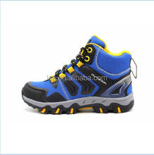 2017 spring and summer fashion style kids boys outdoor action trekking shoes mesh hiking shoes