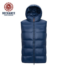 Men's custom design cheap fashion polyester padded vest