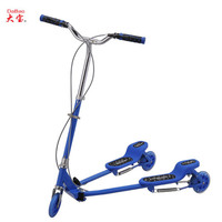China DaBao three wheels swing scooter/frog sport scooter/frog kick scooter(DB-8039L)