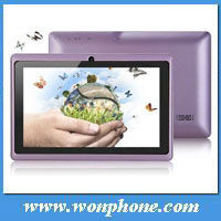 Cheapest All Winner A13 7inch Tablet PC + 512MB/4GB