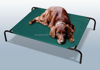 Portable metal pet bed outdoor and indoor for dogs