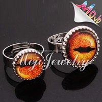 Daring Design Big Mood Mens Tiger Eye Ring From Yiwu Manufacturer