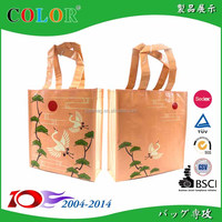beautiful fashion shopping bag / Wholesale Reusable PP Shopping Bag / pp non woven bag