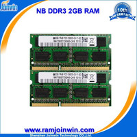 Lifetime warranty FCC CE RoHS ddr3 2gb ddr 1333 laptop memory