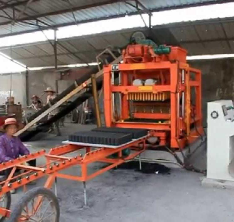 CGK automatic cement blocks producing system brick making machine rwanda 4-26 in US