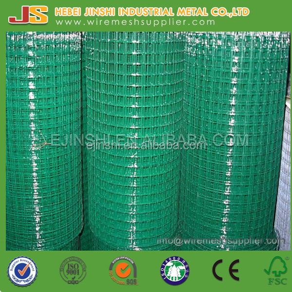 PVC COATED WELDED WIRE MESH ROLL FOR BIRD CAGE