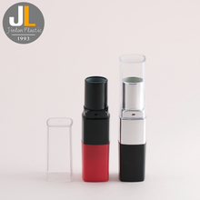 China Customization color cosmetic tube lipstick tubes empty lip gloss packaging oval lip balm container