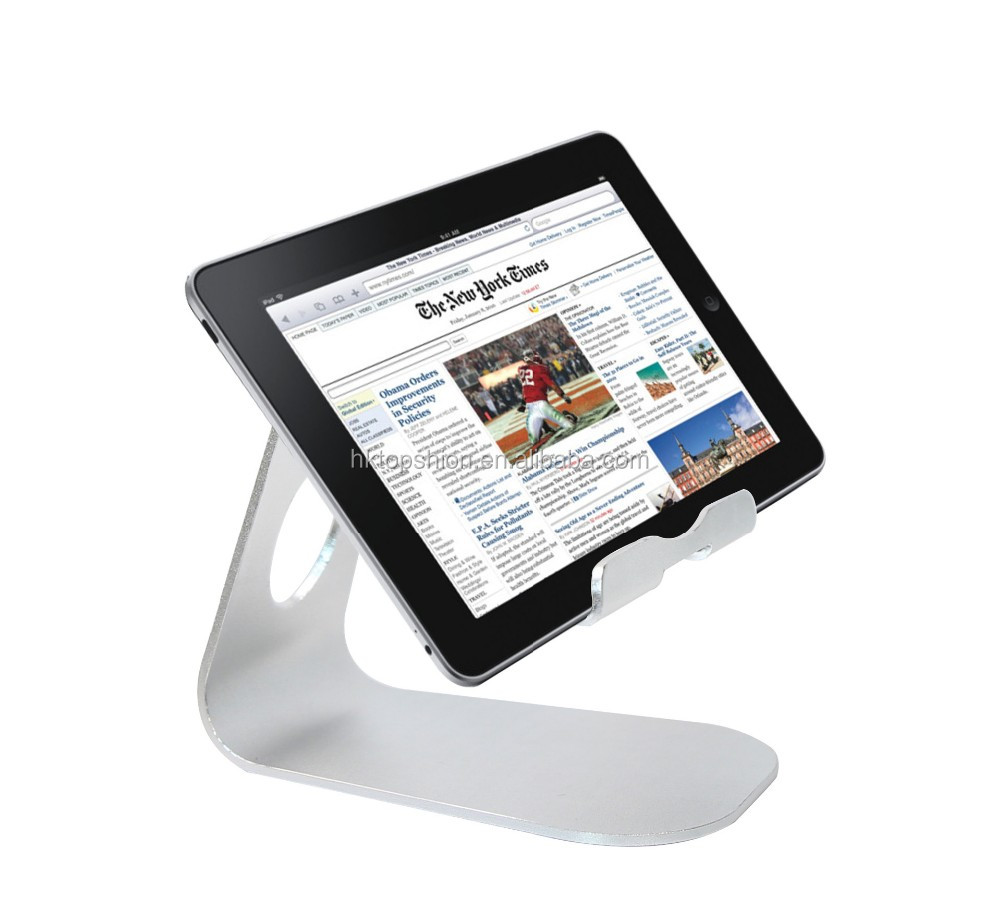 Deluxe Aluminum Alloy Holder For iPad Tablet Stand Holder Rotating Stand
